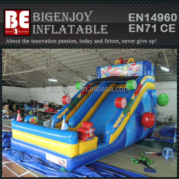 Children Gift Inflatable Candy slide for birthday