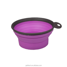 Environmental protection TPE material color varies 500ml or 250ml Foldable pet dog bowl