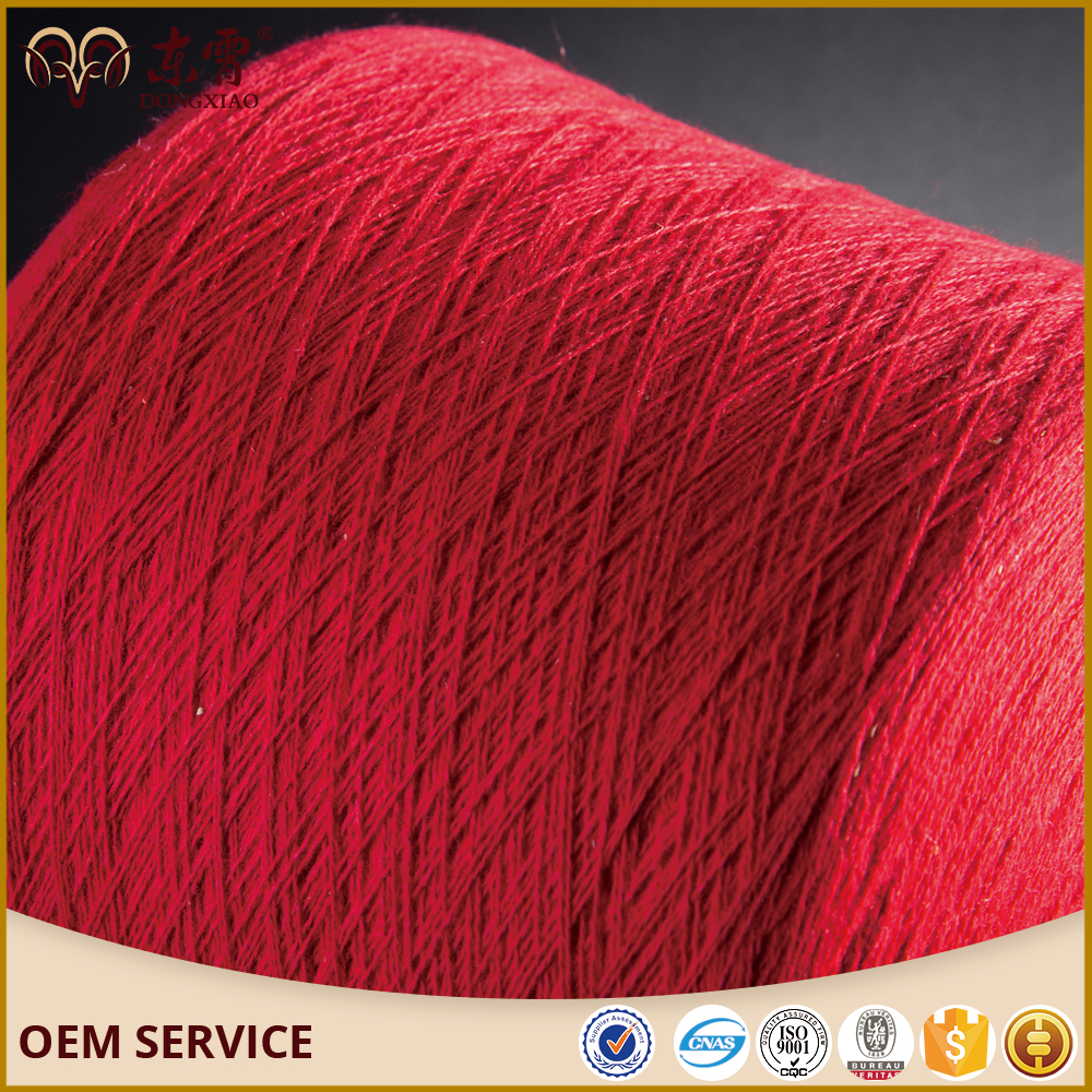 High quality 90%wool 10%cashmere blended yarn for knitting