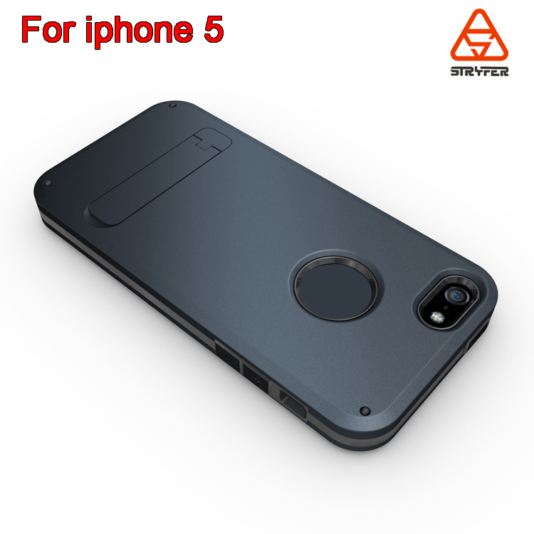 With logo Slim Tough Belt Clip Holster fit for iphone 5s case