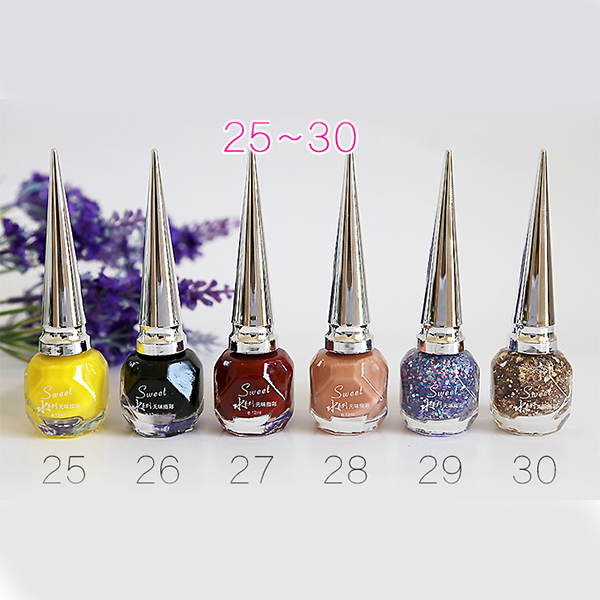 2016 private label nail polish factory water based tear cheap nail polish
