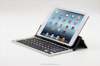2015 New design Universal Ultra-slim folding Bluetooth keyboard for all tablets and smart phones
