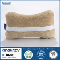 Travel neck support back memory foam seat cushion for office chair