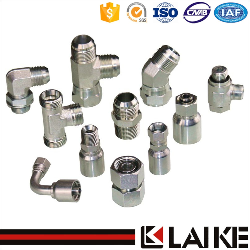 Hose hydraulic fitting coupling