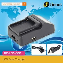 High quality single rapid lcd digital charger for Nikon EN-EL15 battery