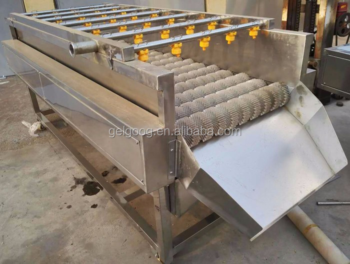 Professional Stainless Steel Vegetable Washing Line with CE Certificate