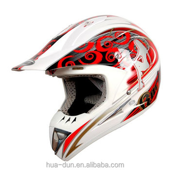fashionable dot and ece approved off road racing helmet for street bike