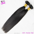 2017 hot selling staight hair ,brazilian human hair weave