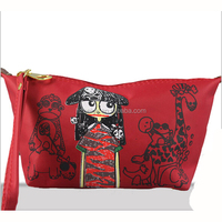 Latest design girls cosmetic bag cosmetic case makeup bag