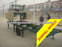 factory sale!!! horizontal wood sawmill logs machine/ portable band saw for coconut lumber