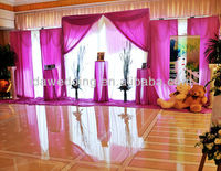 IDA new large stage metal curtain pole turkey screen cheap wholesale