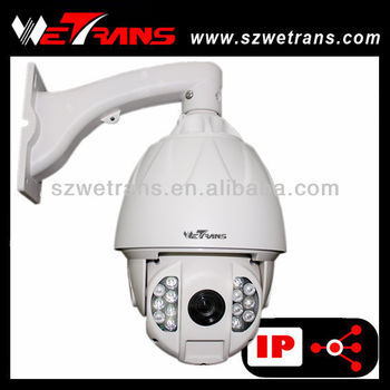 WETRANS 1080P IR High Speed Dome HD Camera IP PTZ Full Hd 30X Optical Zoom