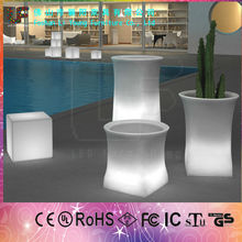 Fascinating High Tech Product LED Furniture Energy Envir And All Kinds Of Color Changing Beautiful Decoration LED Flower Pot