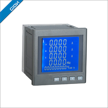 Customized best sell three-phase digital panel multimeter