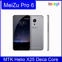 "Original Meizu Pro 6 Pro6 International Version 4G RAM 64G ROM MTK Helio X25 Deca Core Smart phone 5.2"" 21.0 MP Cell Phone OTA"
