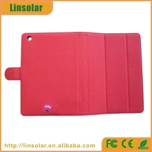 Red Extended Rechargeable Battery Case for Ipad Mini