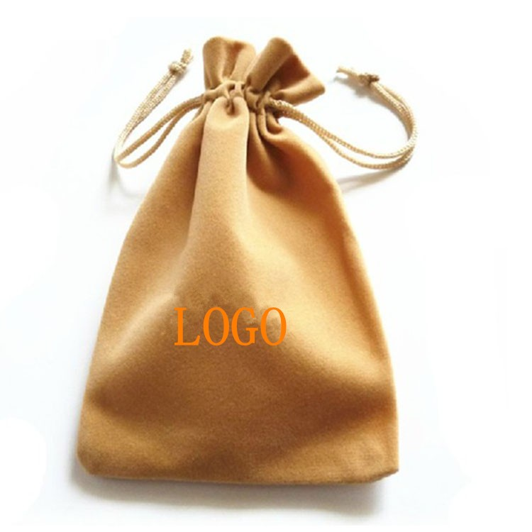 Multi-purpose Mix Color Soft Velvet Pouches Drawstrings for Jewelry Gift Packaging