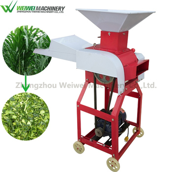 High quality green grass cutter machine best choice chaff cutter for animal cattle feed