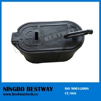 Plastic Water Meter Protect Box without bottom for DN20 water meter