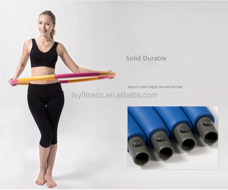 Professional Weighted Fitness Dia 95cm Foam Hula Hoop