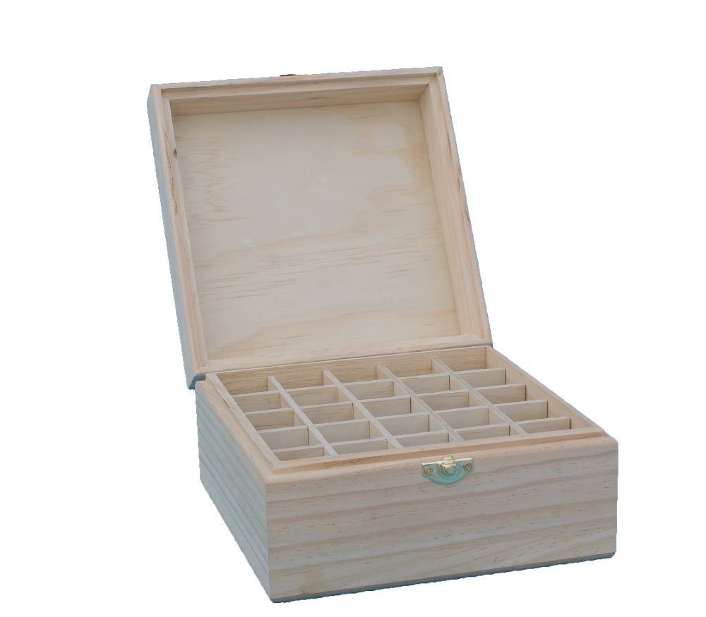 Eco-friengly natural pine wooden unfinished wooden storge handmade box