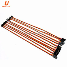 300mm 30cm 22AWG 60core Futaba JR servo extension cable wire leads for rc helicopter