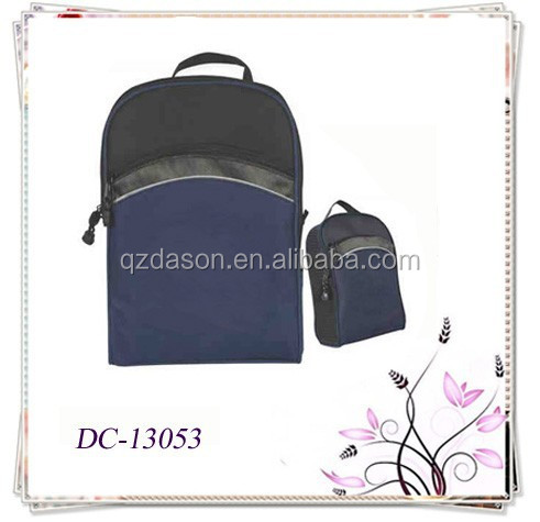Promotional Deluxe Golf Zippered Shoes Bag