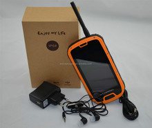 Newest dual sim S09 rugged smart cell phone IP68 NFC Walkie-talkie ipro phones