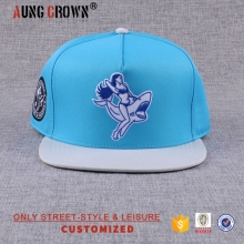Adjustable cotton hip-hop snapback hat
