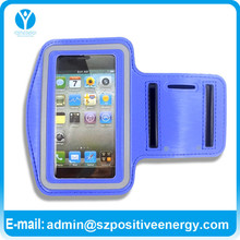 China manufacturer colorful neoprene sports armband for iphone 4 4s case