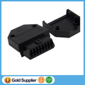 J1962F normal OBD2 16 Pin Female connector with OBD adapter