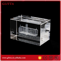 Wholesale Personalized 3D Laser Crystal Cube