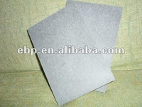 Cement board for drywall partition system