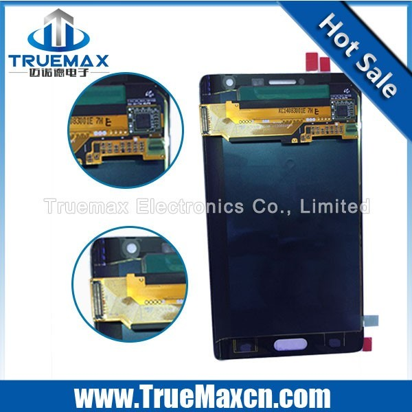 100% Test Good LCD Touch Screen for Samsung Galaxy Note Edge, LCD Complete for Samsung Note Edge