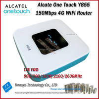 New Arrival Original Unlock LTE FDD 150Mbps Alcatel Y855 Portable 4G WiFi Router Support LTE FDD 800/900/2100/1800/2600MHz