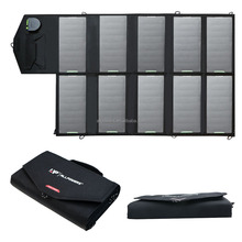 High Efficiency Solar Power Charger Foldable Solar Panel Outdoor Waterproof Charger for Laptop Cell Phone for iphone