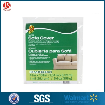 large size waterproof plastic mattress protector heavy duty plastic sofa covers