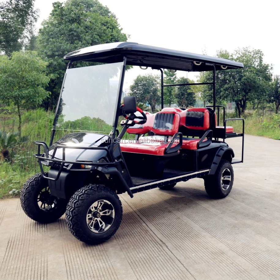 Ce Approved 6 Seater Street Legal Go Carts 6 Person