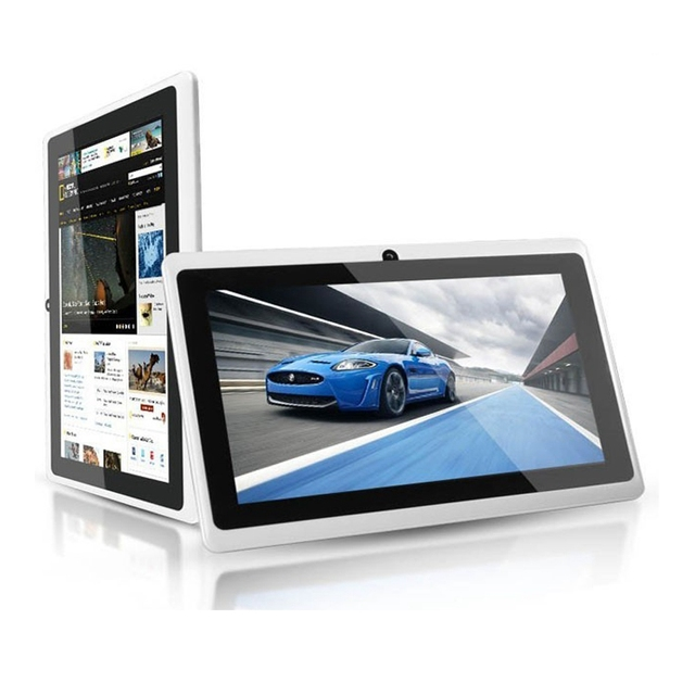 China manufacturer android 4.4 quad core tablet pc 7