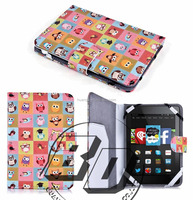 Manufacturer Wholesale Flip PU Leather Wallet Muti Beautiful patterns Case For Amazon New Kindle 2014/Kindle Touch lowest price