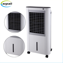 Hot sale movable button control and remote control floor standing portable evaporative mini air conditioner for home use