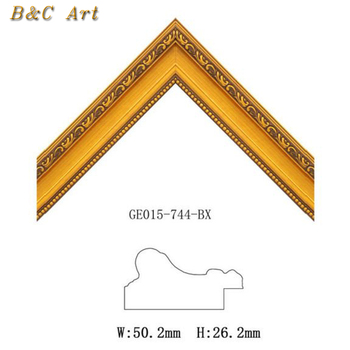 Wholesale High quality gold wooden frame for paintings