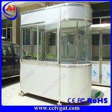 Customized prefabricated design/Portable mobile sentry box/security booth koisk/guard house GAT-GT30