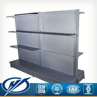 Corrosion Protection Custom Shape Printed Department Store Shelving