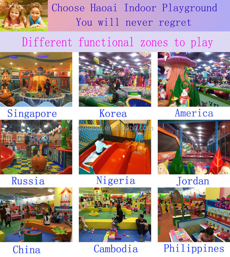 A-15340 Cheap Multifunctional Amusement Park Kids Indoor Playground Equipment