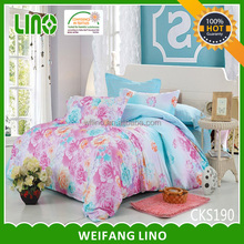 bed cover sweet home/european style bedding set/bedspread embroidered set
