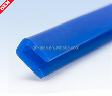 U type edge protection silicone profile/u shaped edge strip