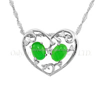 Jade Jewelry 925 Sterling Sliver Pendant For Women