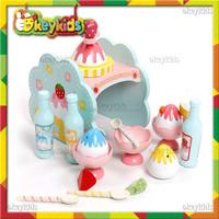 2016 wholesale children wooden ice cream maker toy,role play baby wooden ice cream maker toy,wooden ice cream maker toy W10D114