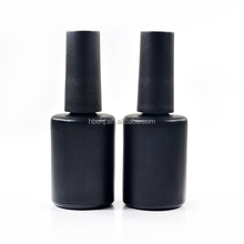 custom made large mini empty 15ml 17ml nail polish glass bottle wholesale for personal care